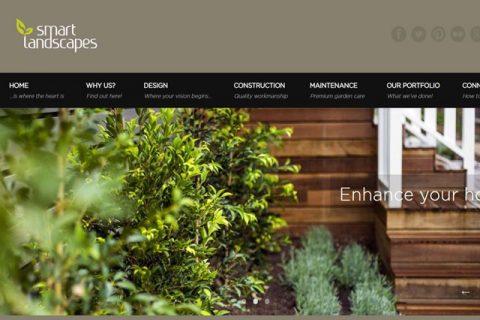 Smart Landscapes Website